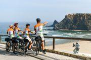 bike trip along the coast