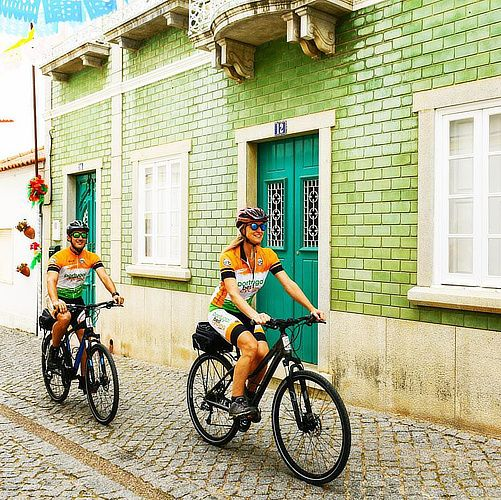 Instagram Three, Biking Portugal
