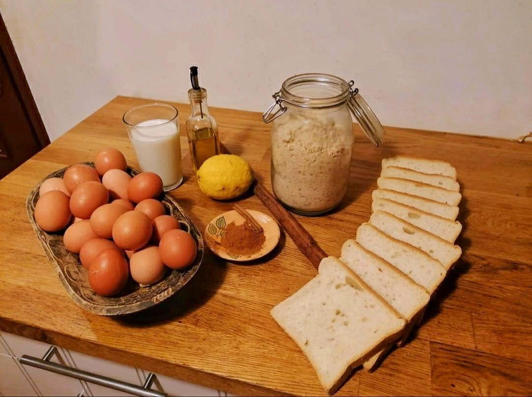 rabanadas ingredients